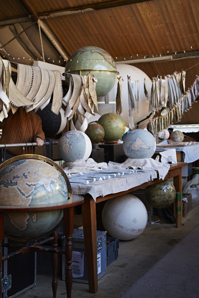 In the Studio of Bellerby Globe Makers