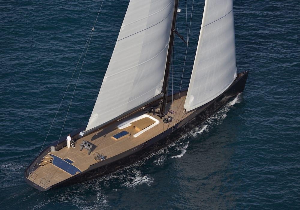 Wally 143 Esense yacht sailing