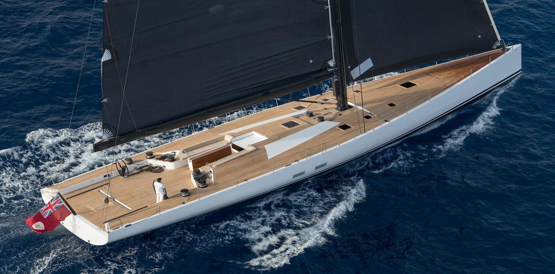 Palma (Mallorca, Spain) Wally Yachts, Wally Cento Galateia