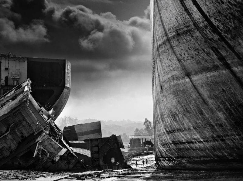 The ship breaking yards of Chittagong, Bangladesh