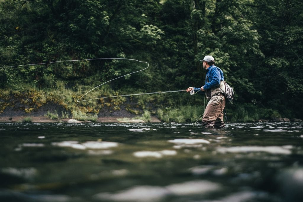 fly fishing in Scotland for Atlantic Salmon