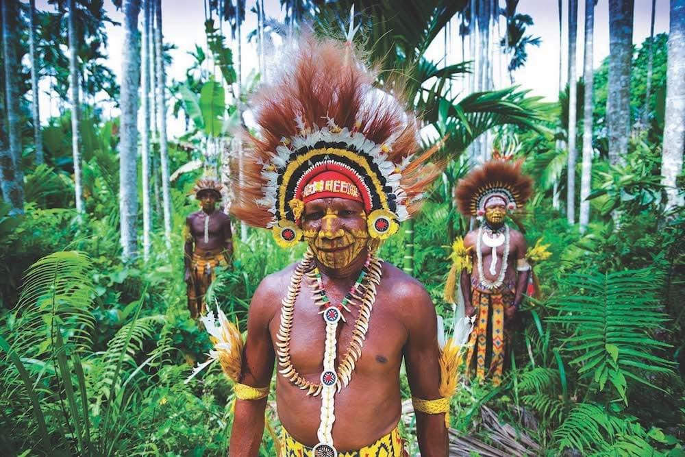 impressive and beautiful tribal head wear