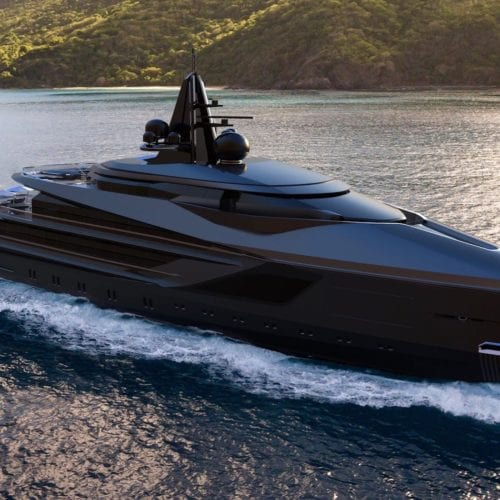 Esquel yacht's exterior