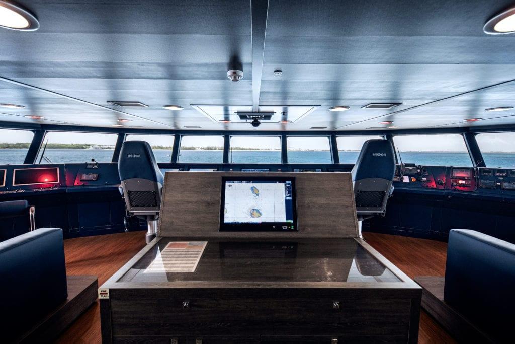 Hodor yacht bridge interior