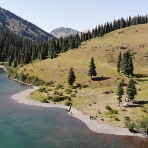 Kazak's natural beauty, lakes and forests