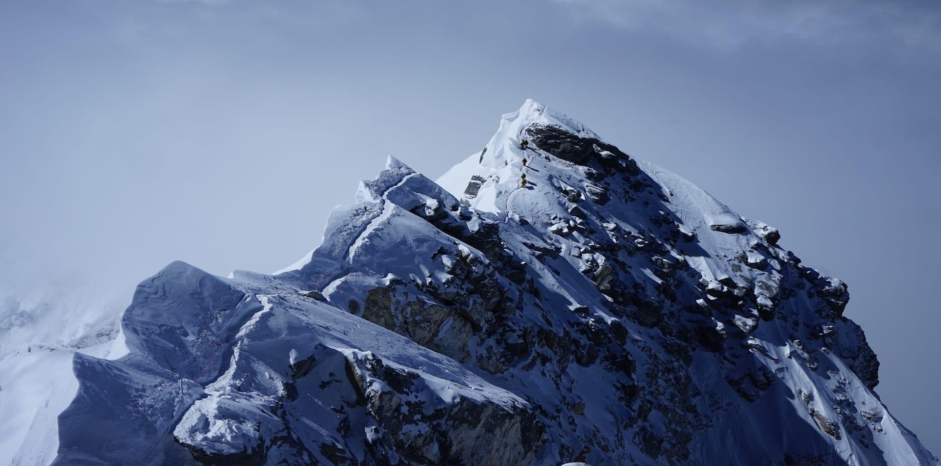 Everest summit reach