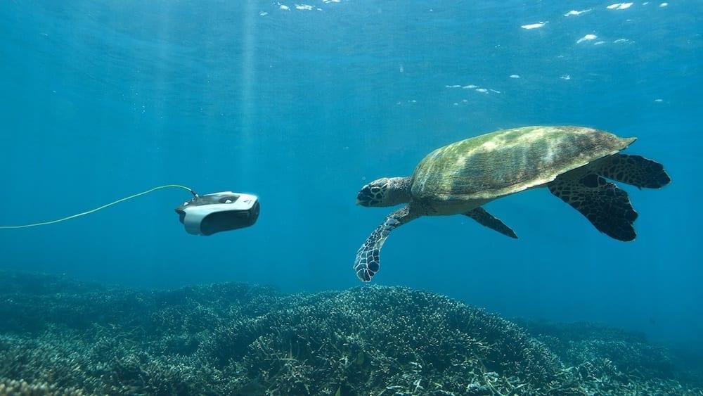 Navatics Mito, high resolution underwater drone, Solomon