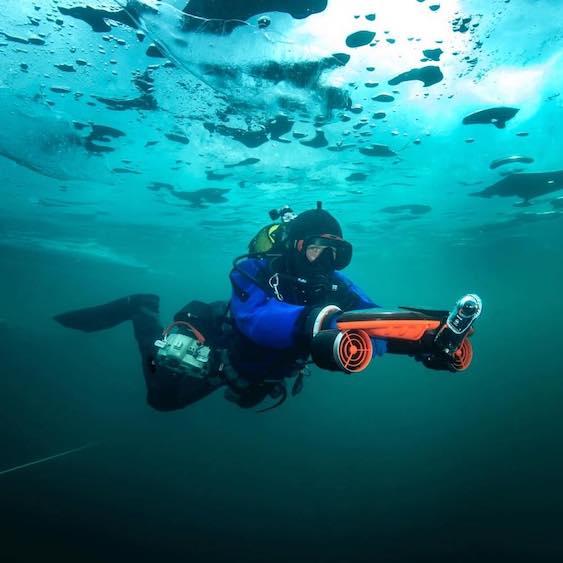 Sublue Whiteshark Underwater Scooter, Caribbean