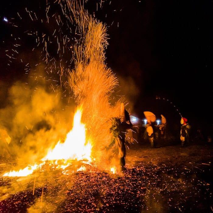 Baining Fire Trip Ritual in Papua New Guinea