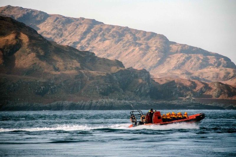 Gulf of Corryvreckan, west coast of Scotland