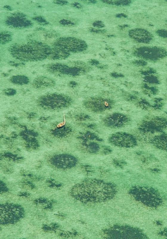 Aerial View over Bazaruto Archipelago, Mozambique