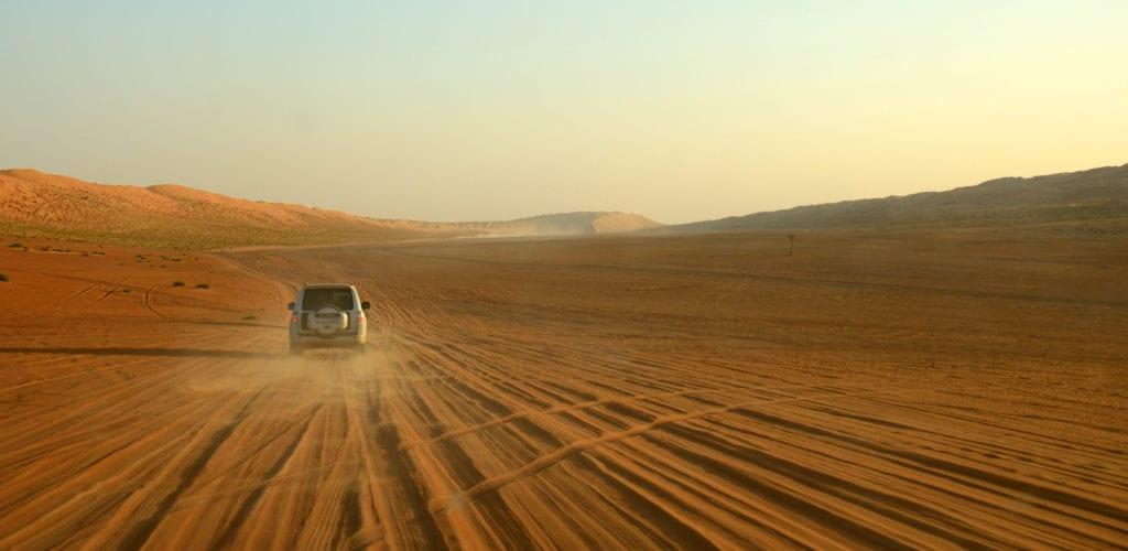 Wahiba Sands Driving Oman