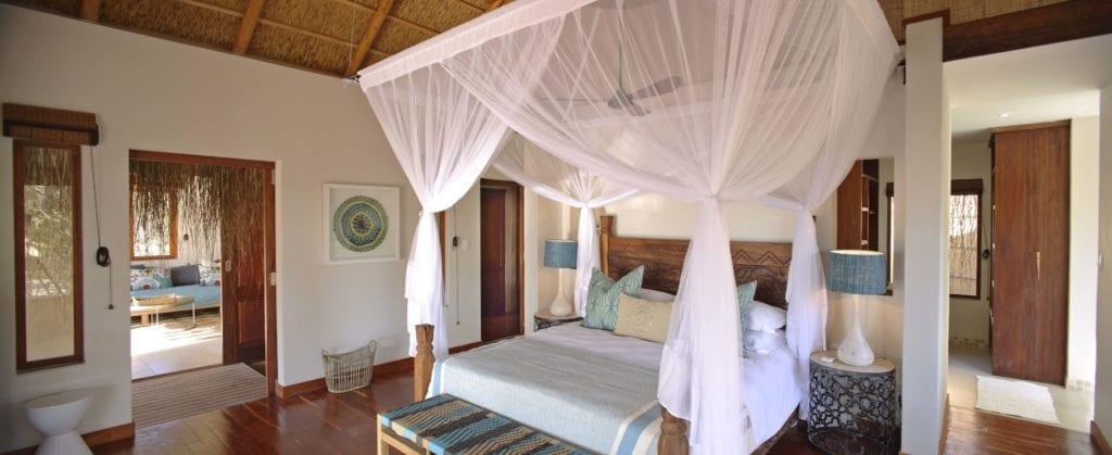 Royal Beach Villa Bedroom Interior Azura Benguerra Mozambique