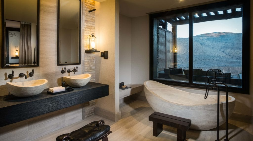 Alila Jabal Akhdar Accommodation Bathroom Oman