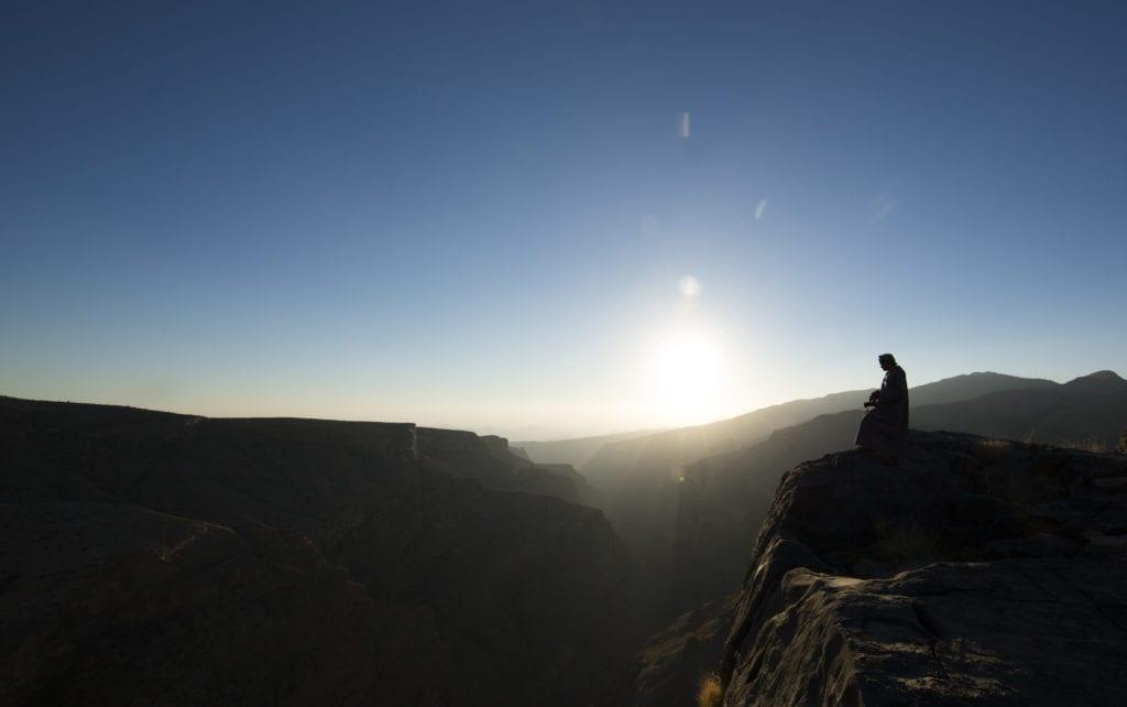 Sunset Oman Alila Jabal Akhdar