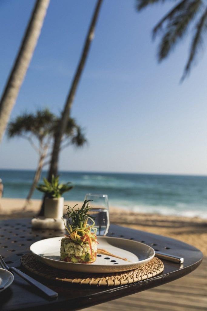 Dining by the Beach at Amanwella Sri Lanka