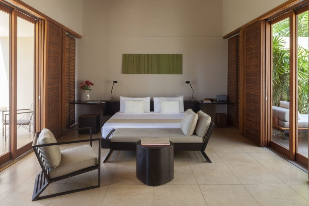Suite Bedroom Interior at Amanwella Sri Lanka