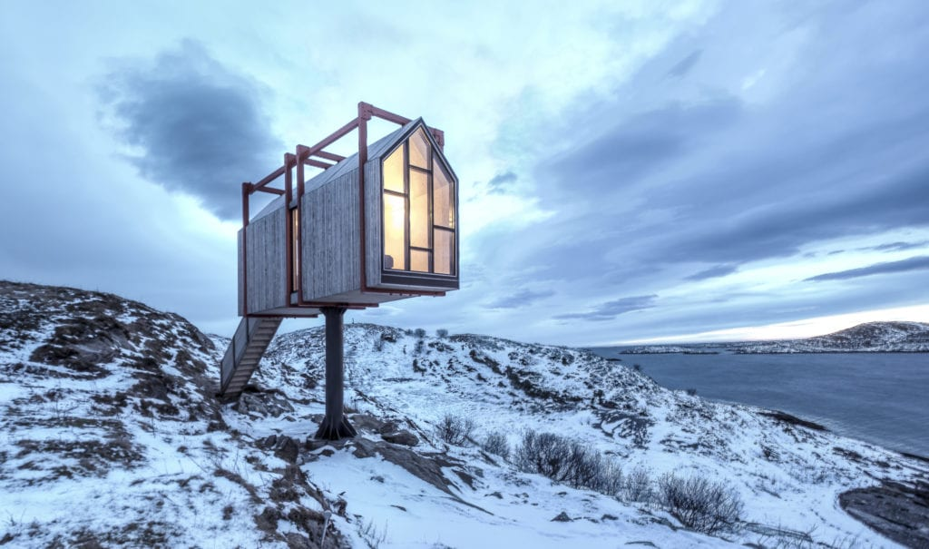 HERO Accommodation at Arctic Hideaway in Norway