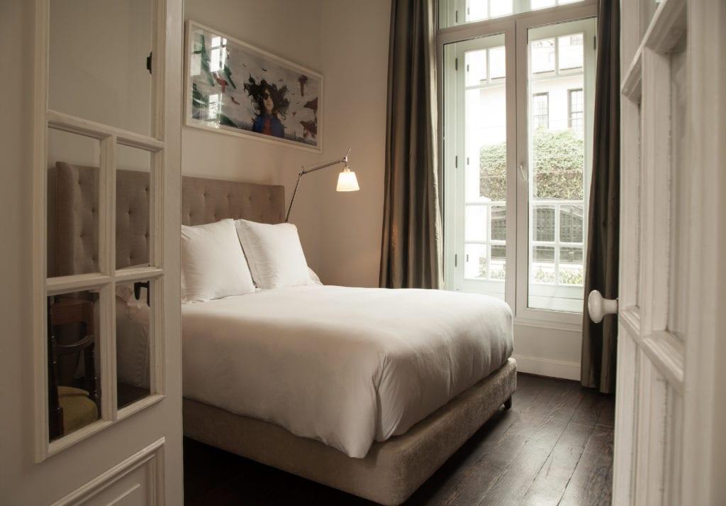 Bedroom Interior at Hotel B Peru