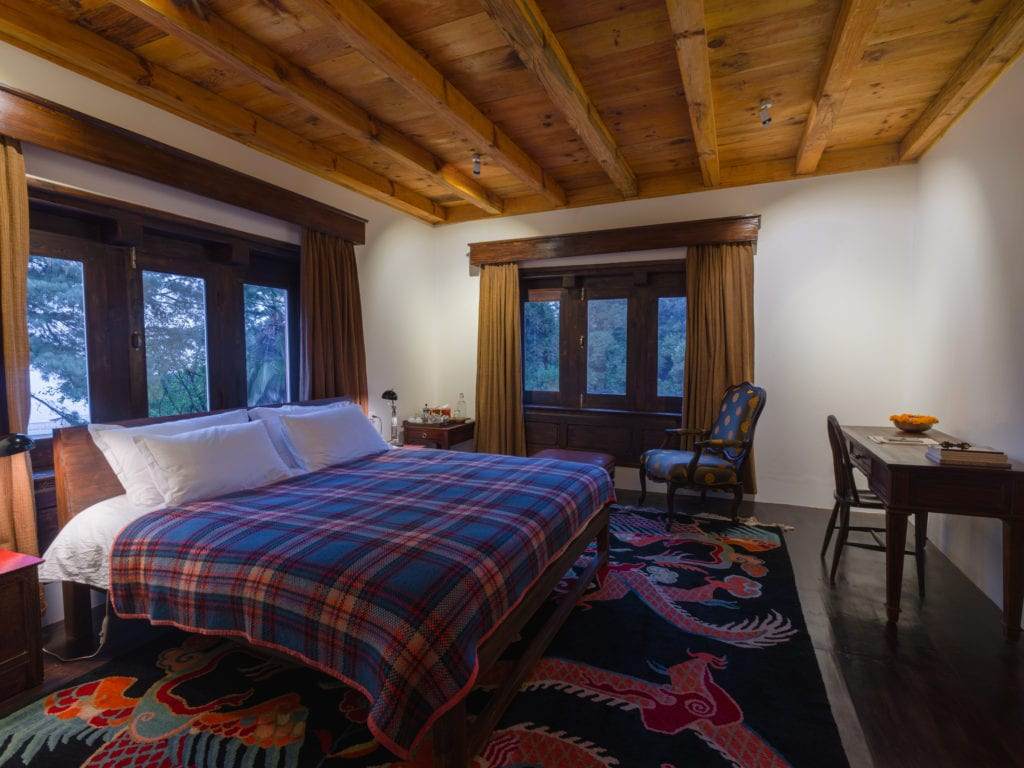 Interior of Bedroom at Happy House in Nepal
