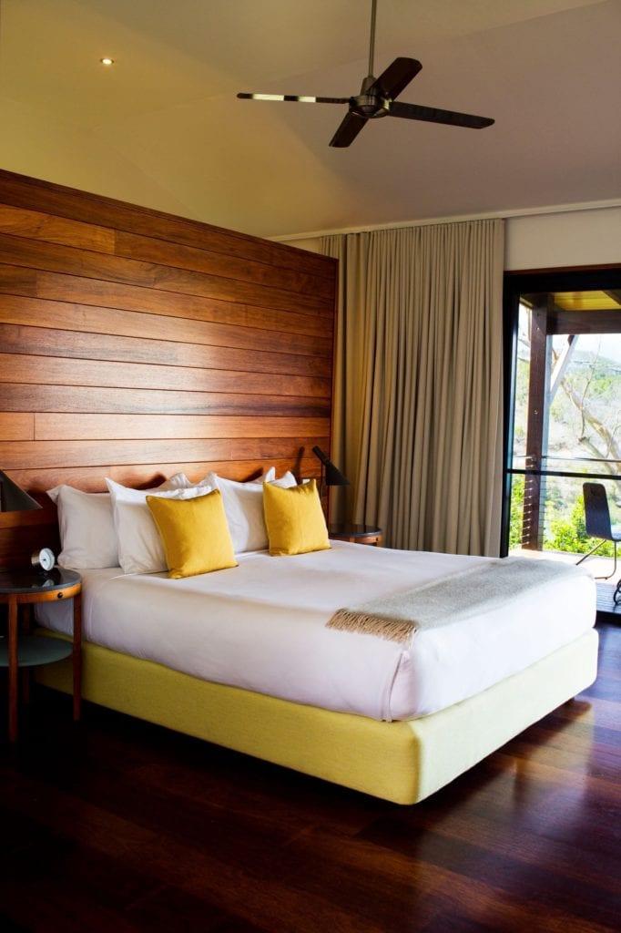 Interior of Room at Qualia Whitsundays Australia