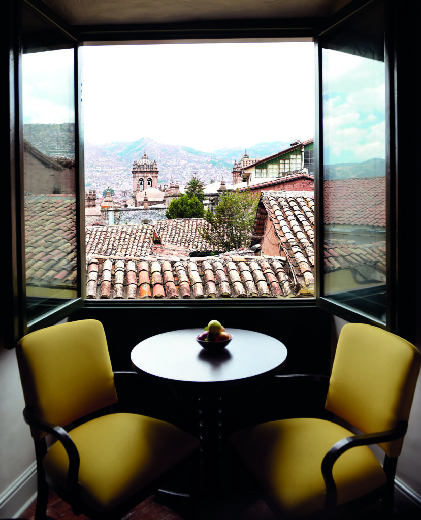 Sitting Area at Belmond Hotel Monasterio Peru