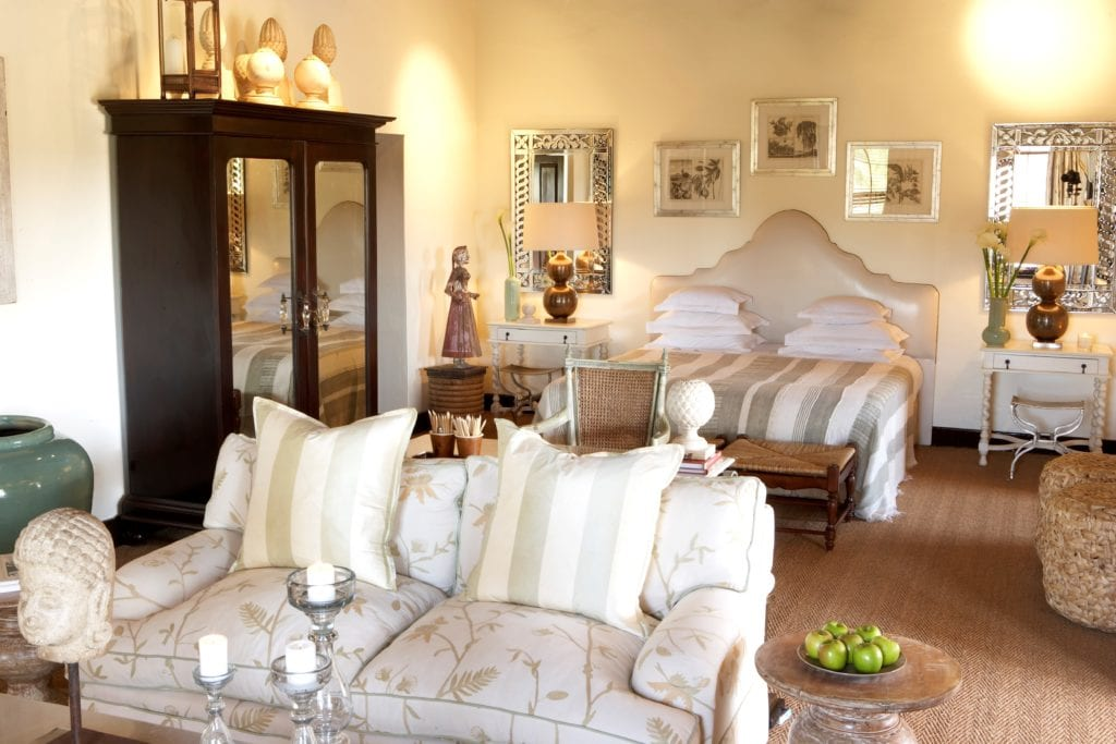 Deluxe Room and Searing Area at Bushmans Kloof South Africa