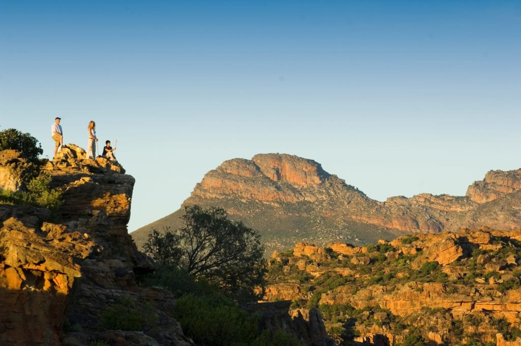 Bushmans Kloof Hiking In the Mountains at Sunset South Africa