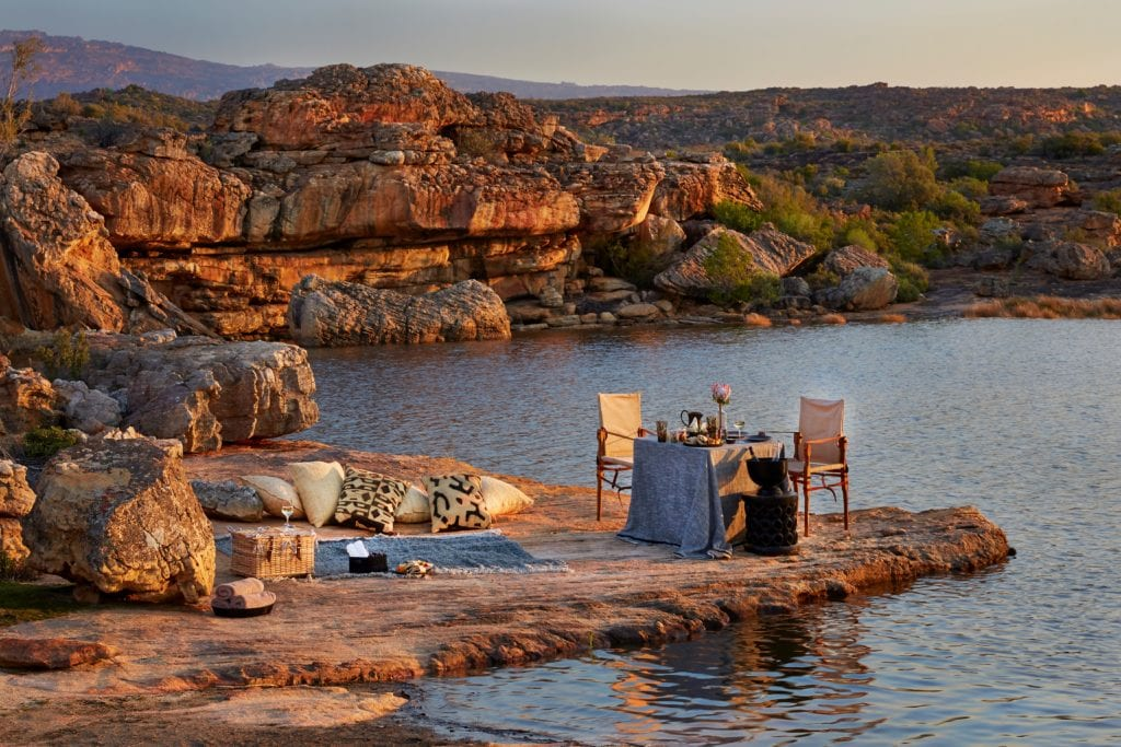 Lakeside Sundowners Bushmans Kloof Picnic Experience South Africa