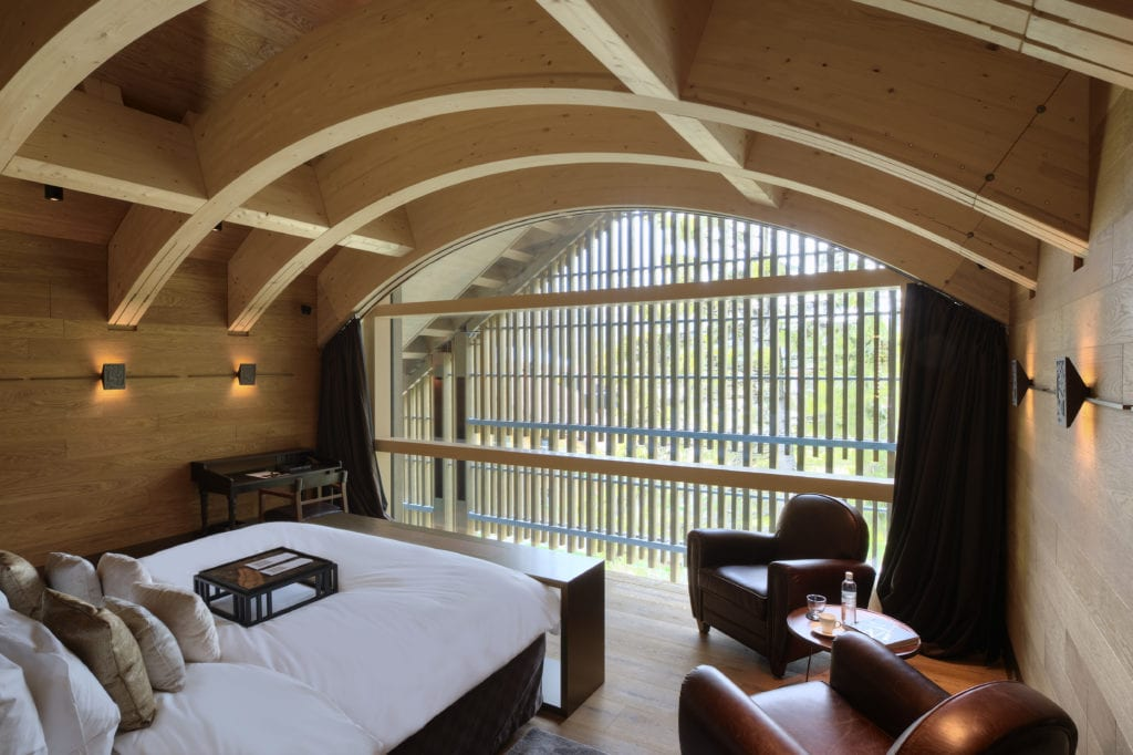 Furka Suite Master Bedroom at The Chedi
