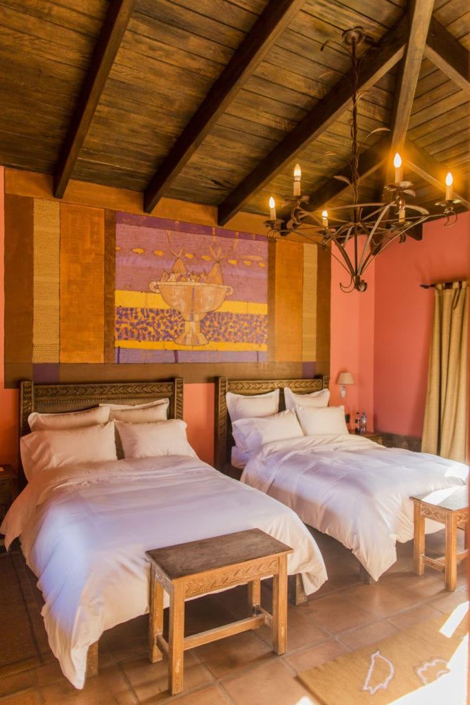 Casita Premium Twin Beds at Sol y Luna Peru