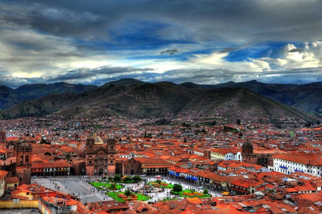 Cities Landscape In Peru