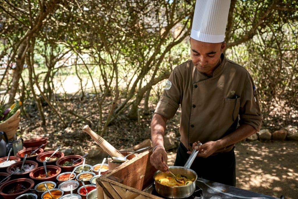 Cooking Class in Nature Wild Coast Tented Lodge Sri Lanka
