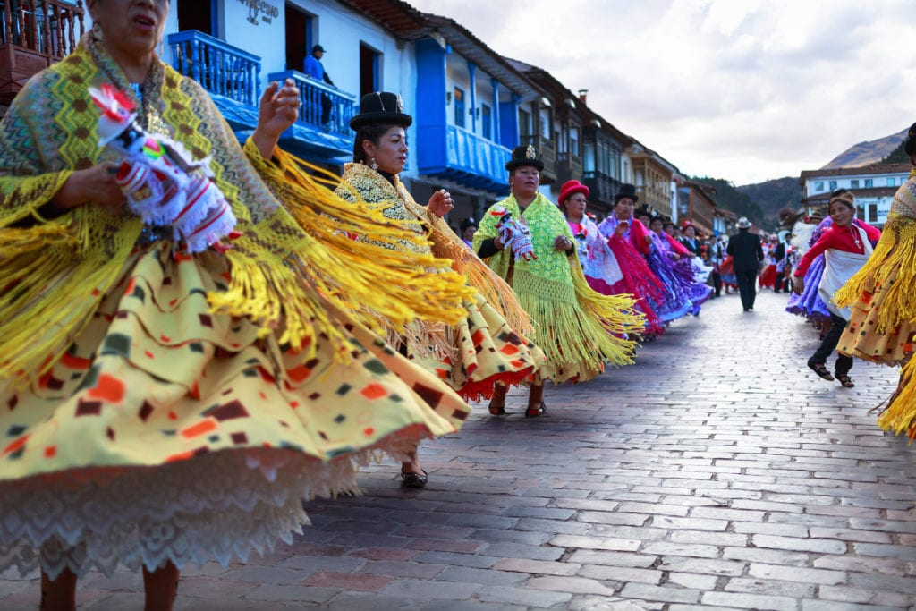 Dancing and Cultural Experience in Peru