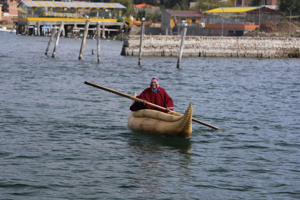 Cultural Experience in Bolivia Boats
