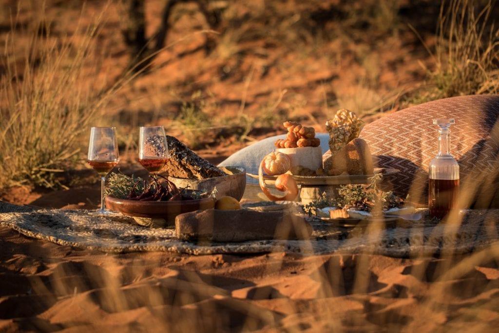 Dining at Tswalu Kalahari