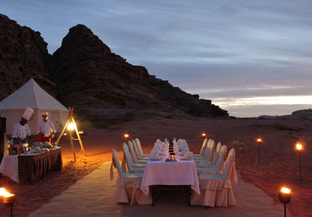 Dinner under the Stars Jordan