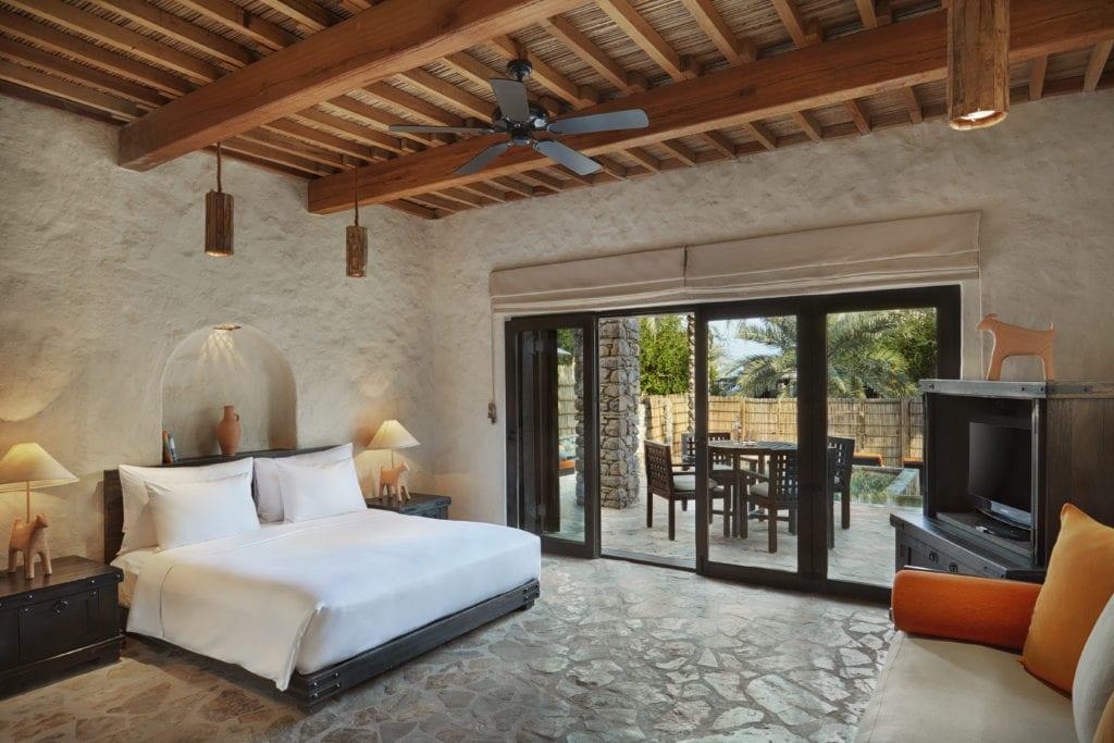 Master Bedroom Duplex Villa Six Senses Zighy Bay Oman