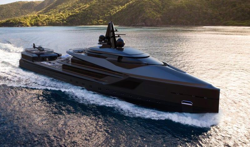 esquel explorer yacht exterior