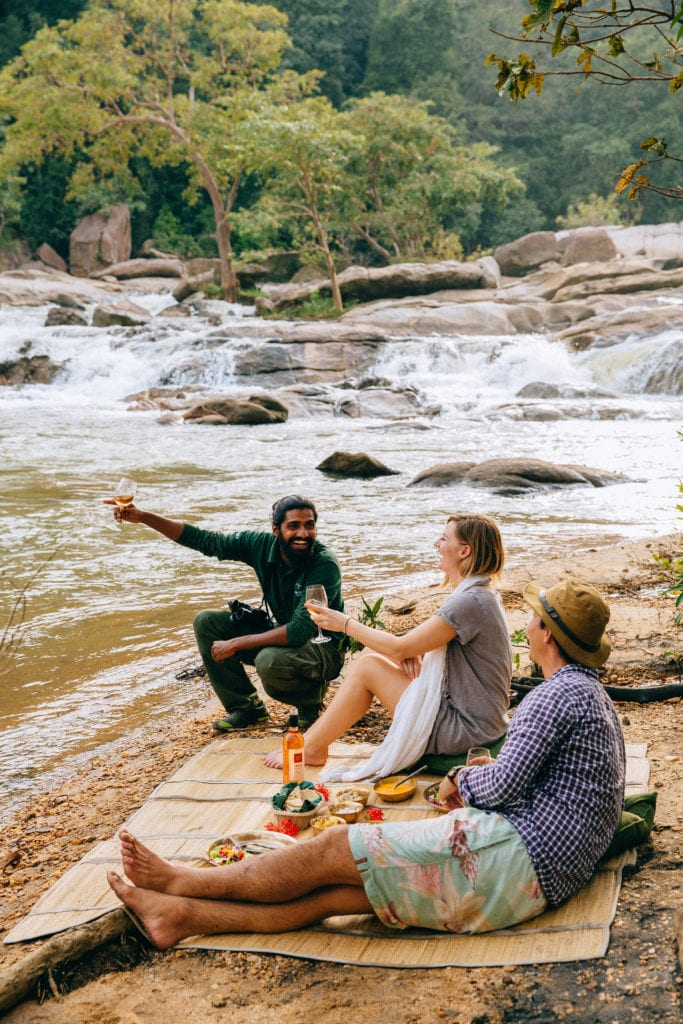 Experiences and Wild Dining Gal Oya Lodge Sri Lanka