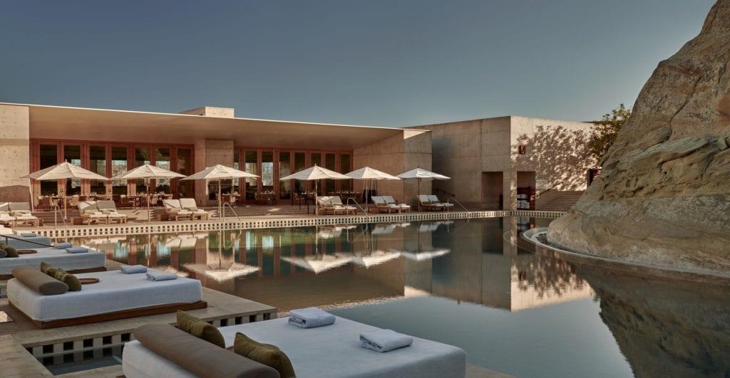 Exterior and Pool at Amangiri Desert USA