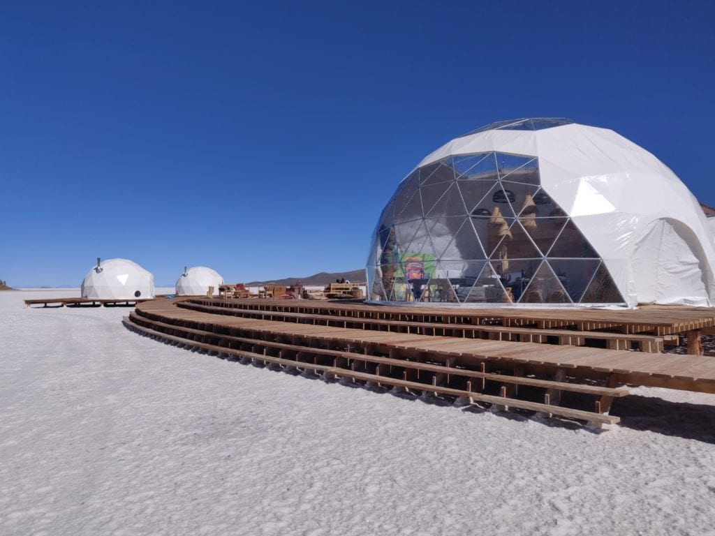 Kachi Lodge Domes in Bolivia