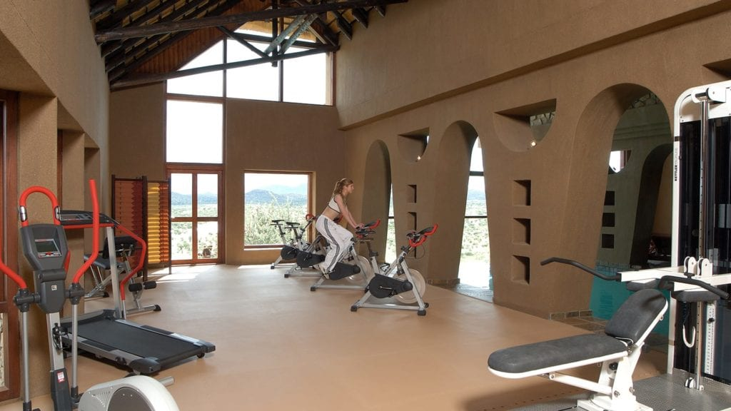 Fitness Gy, at Gocheganas Nature REserve and Wellness Village Namibia