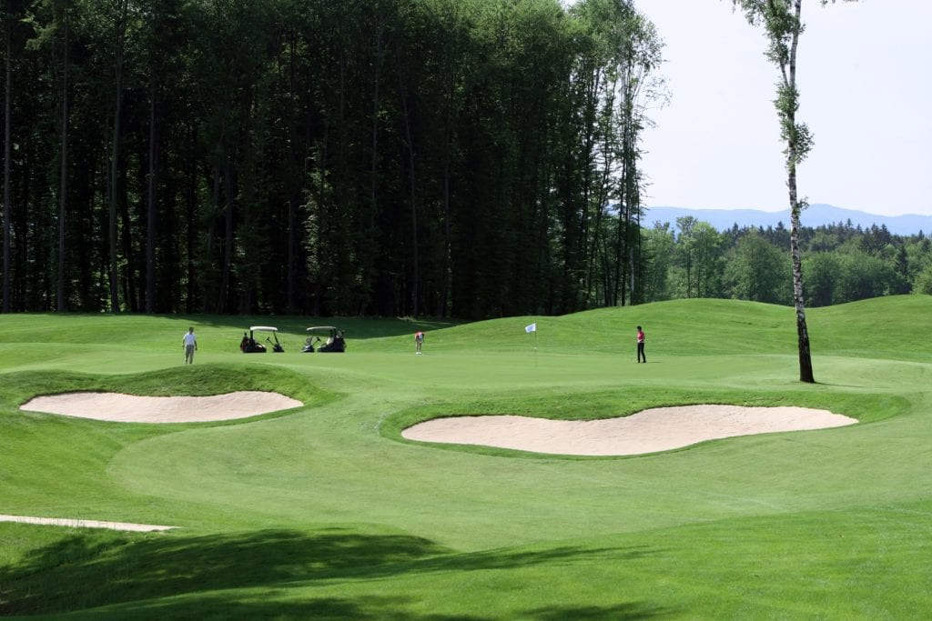 Golf at Hotel Grad Otocec Slovenia
