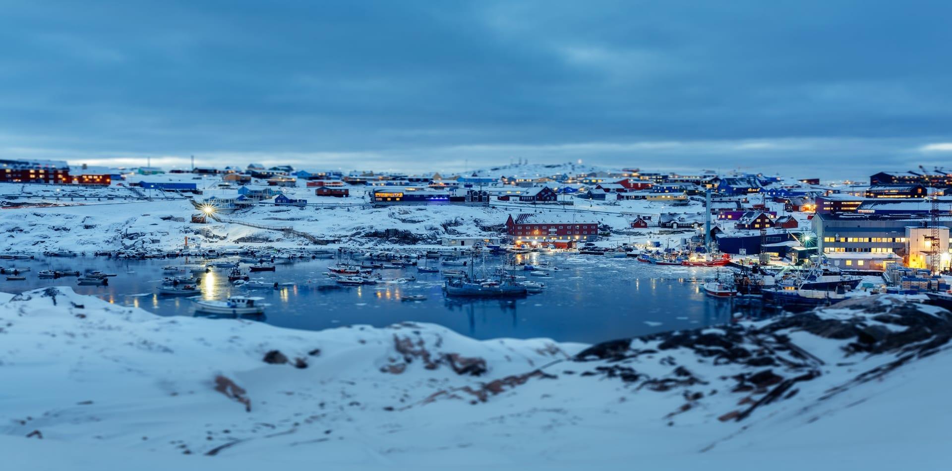HERO Greenland Harbour Fjords