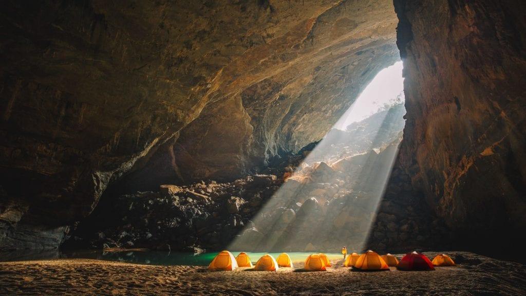 Sun bean cave tents Vietname