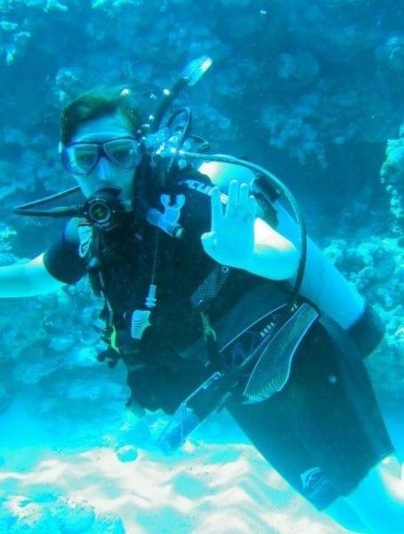 Diving-Hannah