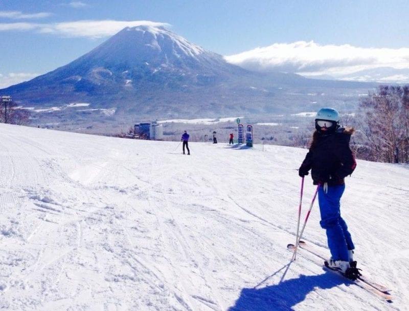 Skiing Hannah