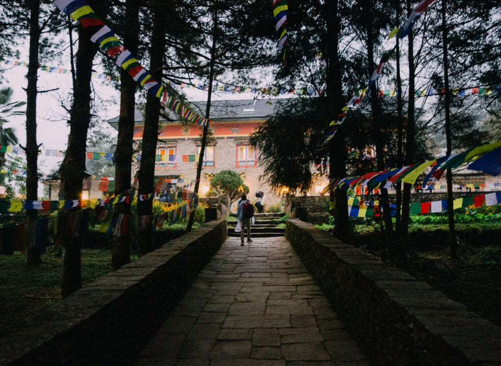 Exterior Path at Happy House Nepal
