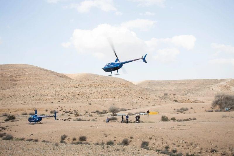 Heli Landing Israel